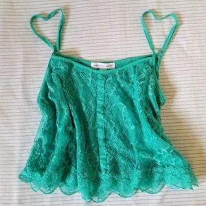 Mint green crop top 💚